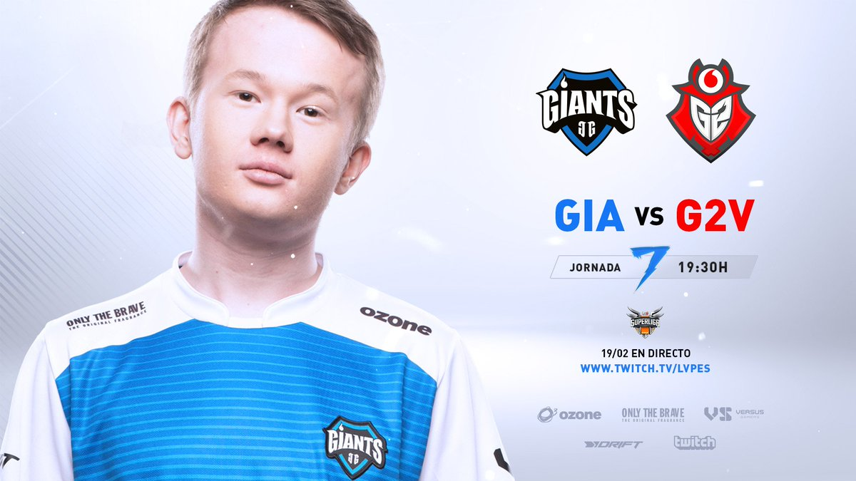 #SuperligaOrangeLoL7 | Our game against @G2Vodafone is about to start. Tune in and watch as we try to demolish the samurais. #WeAreGiants  ➡️ https://t.co/axz2XwHQl3 https://t.co/57XCk5G5pa