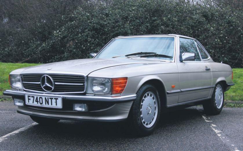 Mercedes-Benz SL R107: The best classic Merc you can buy https://t.co/36C0E7bzf5 https://t.co/qBENzYgumd