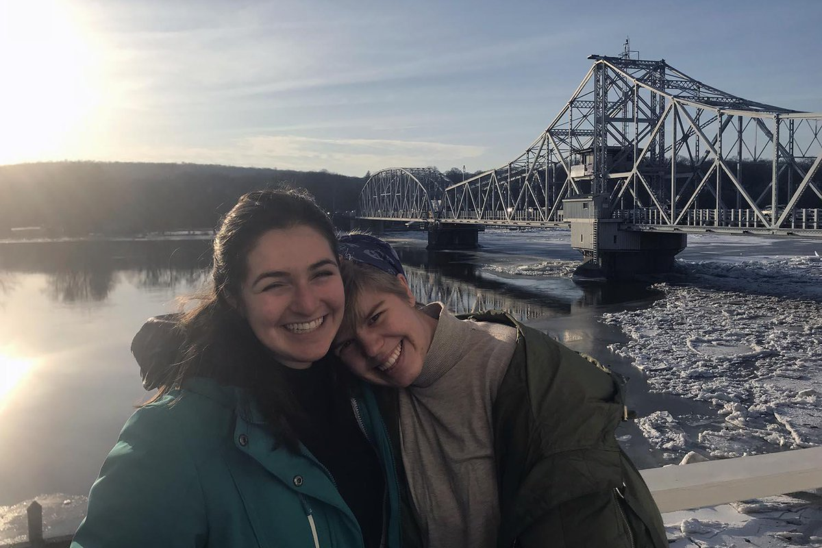 test Twitter Media - Molly Bogin '18 and Tekla Monson '18 are the first Wesleyan students to take part in a pilot program between the university and the Johnny Mercer Writers Colony at Goodspeed Musicals. Read more here: https://t.co/3goO9N45VH https://t.co/qsVYy0mDcw