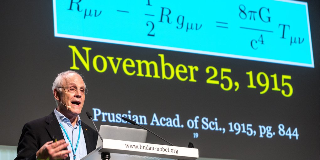 test Twitter Media - Happy birthday #NobelLaureate and @ucsantabarbara physicist David Gross! At #LiNo16, Prof. Gross talked about the enduring legacy of Albert Einstein: One Hundred Years of General Relativity https://t.co/iQLjYdGXSf https://t.co/K6pZBIhHpP