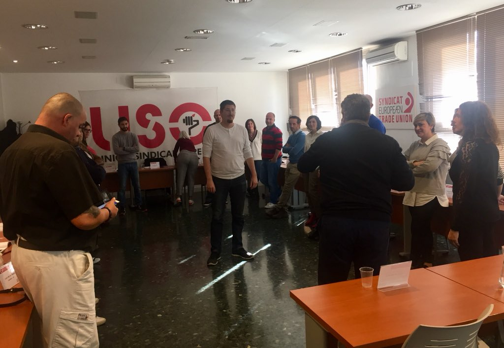 RT @USOConfe: Los compañeros del #4FDF se forman en técnicas para hablar en público #formaciónsindical #USOEnMarcha https://t.co/alHpoB3d3f