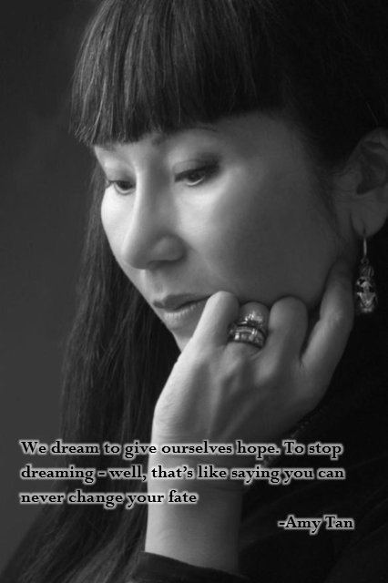 Happy Birthday author, Amy Tan.
