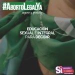 RT : #AbortoLegalYa seguro y gratuit...