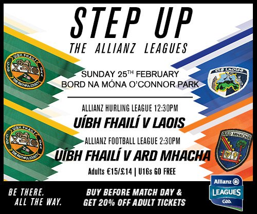 test Twitter Media - Rd 4 Allianz Leagues takes place this weekend in Bord na Mona O'Connor Park on Sunday with a double header. Calling all Faithful Supporters https://t.co/CYF0tlutH9