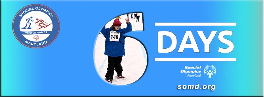 What are you doing to prepare for the SOMD Winter Games? 6 days left! https://t.co/Xhx8NVWiOd