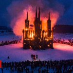 Russian 'burning church' art engulfed in controversy