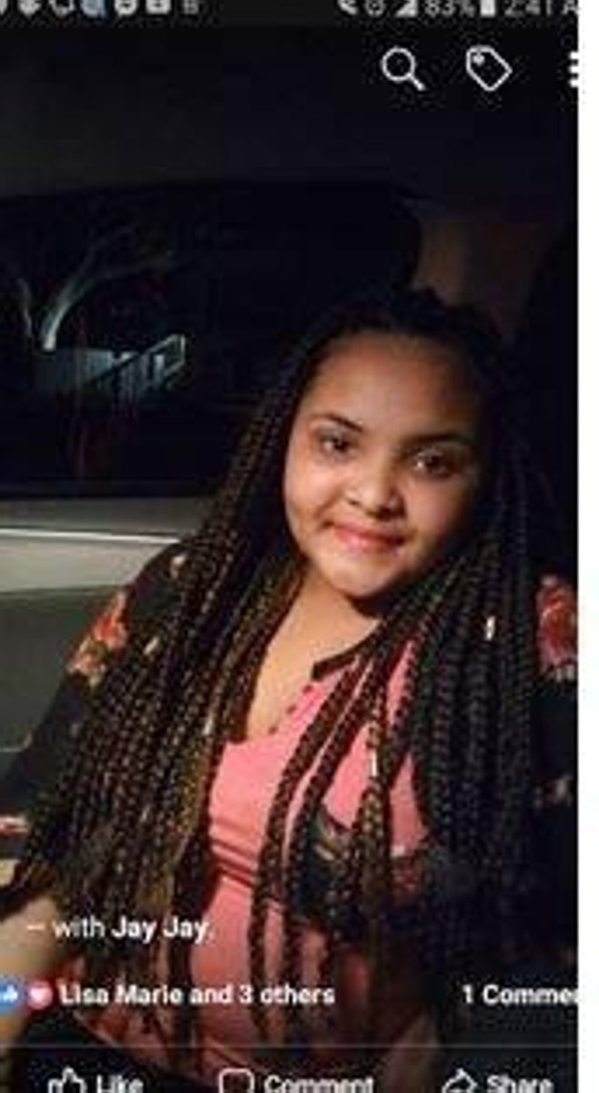 12-year-old sister of murder victim reported missing in Florida