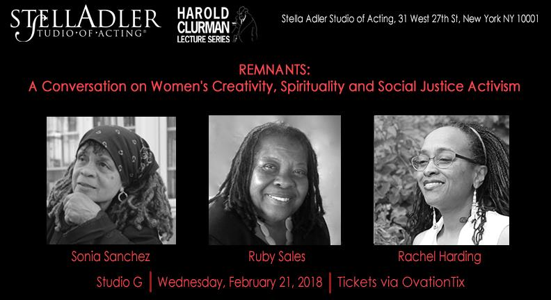 test Twitter Media - This Wednesday, Remnants author Rachel Harding joins @PoetSanchez & @RubyNSales for a conversation on women's creativity, spirituality & social justice activism at @StellaAdlerNY: https://t.co/oqEofWXyvp https://t.co/yQYRfJ4zDH