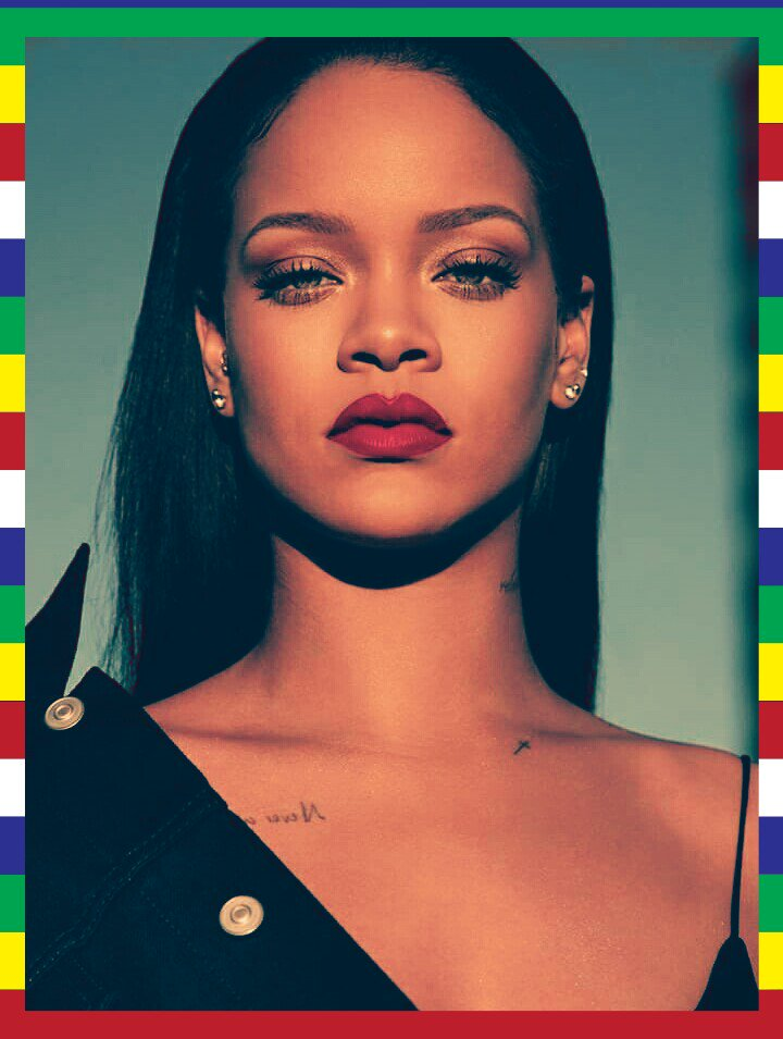 Happy birthday to rihanna ...only queen..~^^