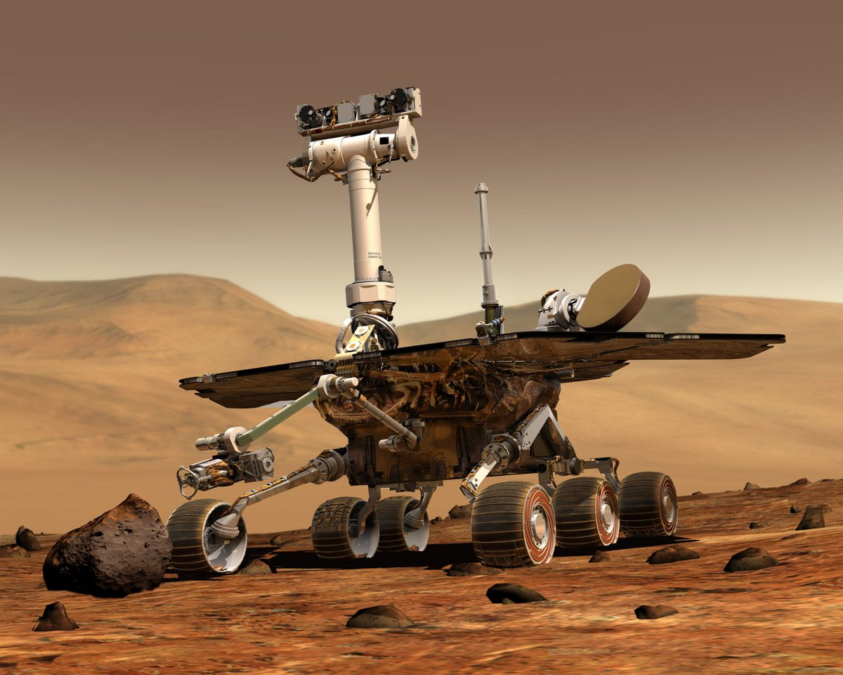 NASA's Opportunity rover surpasses 5,000 Martian days on the Red Planet https://t.co/iydqWGoxqT https://t.co/4tLzz5iNDU