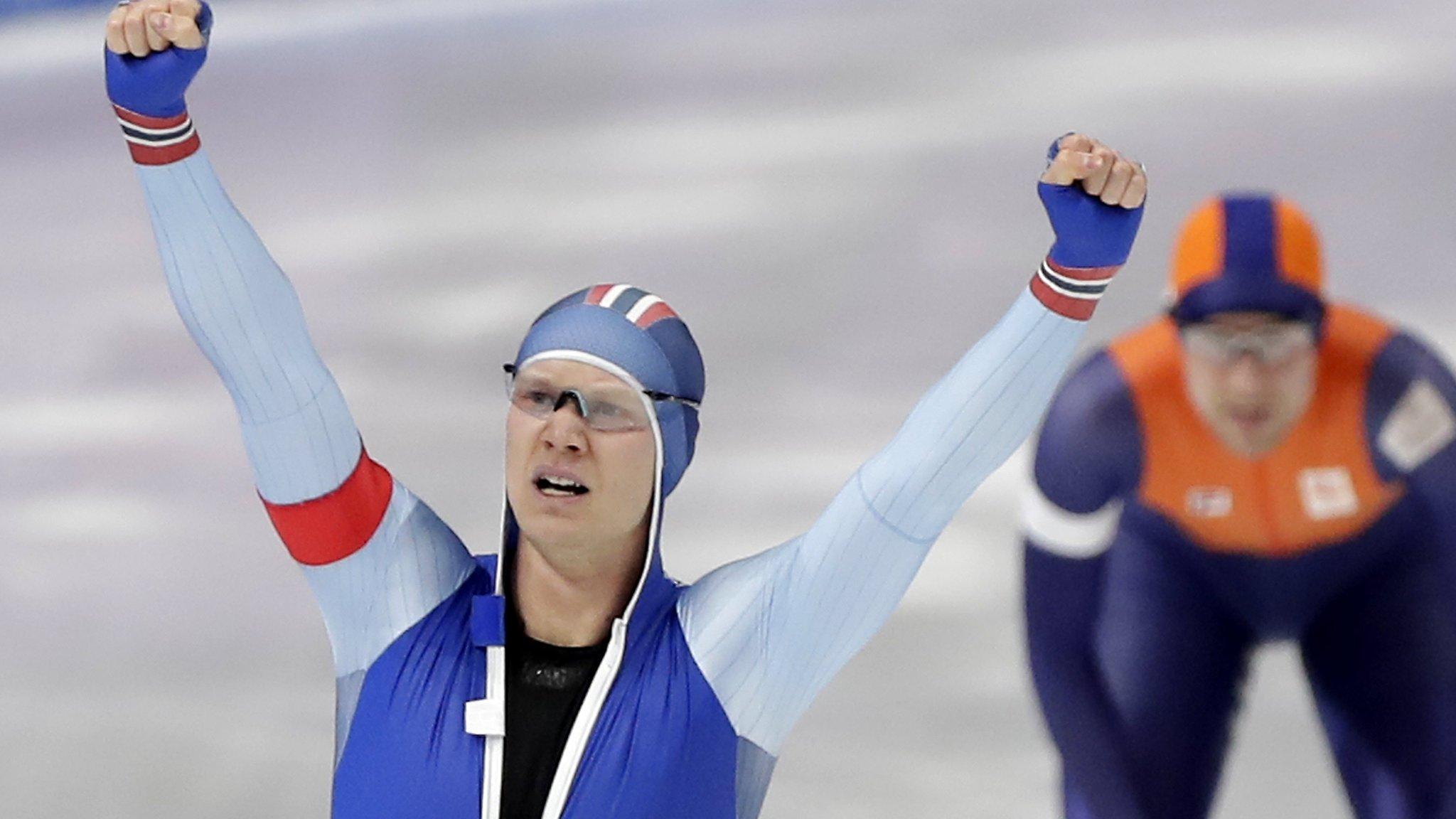 (BBC News):#Winter #Olympics: Norway's Lorentzen wins mens speed skating gold : Watch as.. https://t.co/PN4kYLMceR https://t.co/XYavCxOkm4