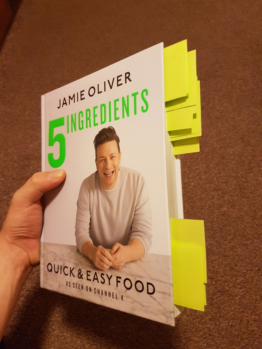 RT @AdamSokol5: @jamieoliver Just marked some of your recipes. Hope all turns great ???? Wish me luck ???? https://t.co/txl2K6wmnX