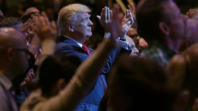 'Evangelicals sell their souls for Trump' https://t.co/3eIGVTjmTB https://t.co/3h8wsgROUC