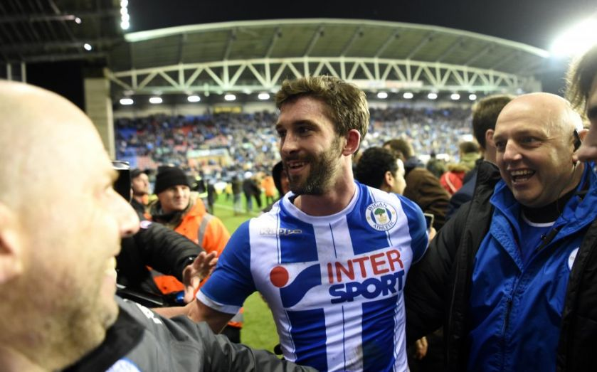City's quadruple hopes up in smoke as Grigg starts party https://t.co/xihMyswtR5 https://t.co/Fu7iPCE0sL