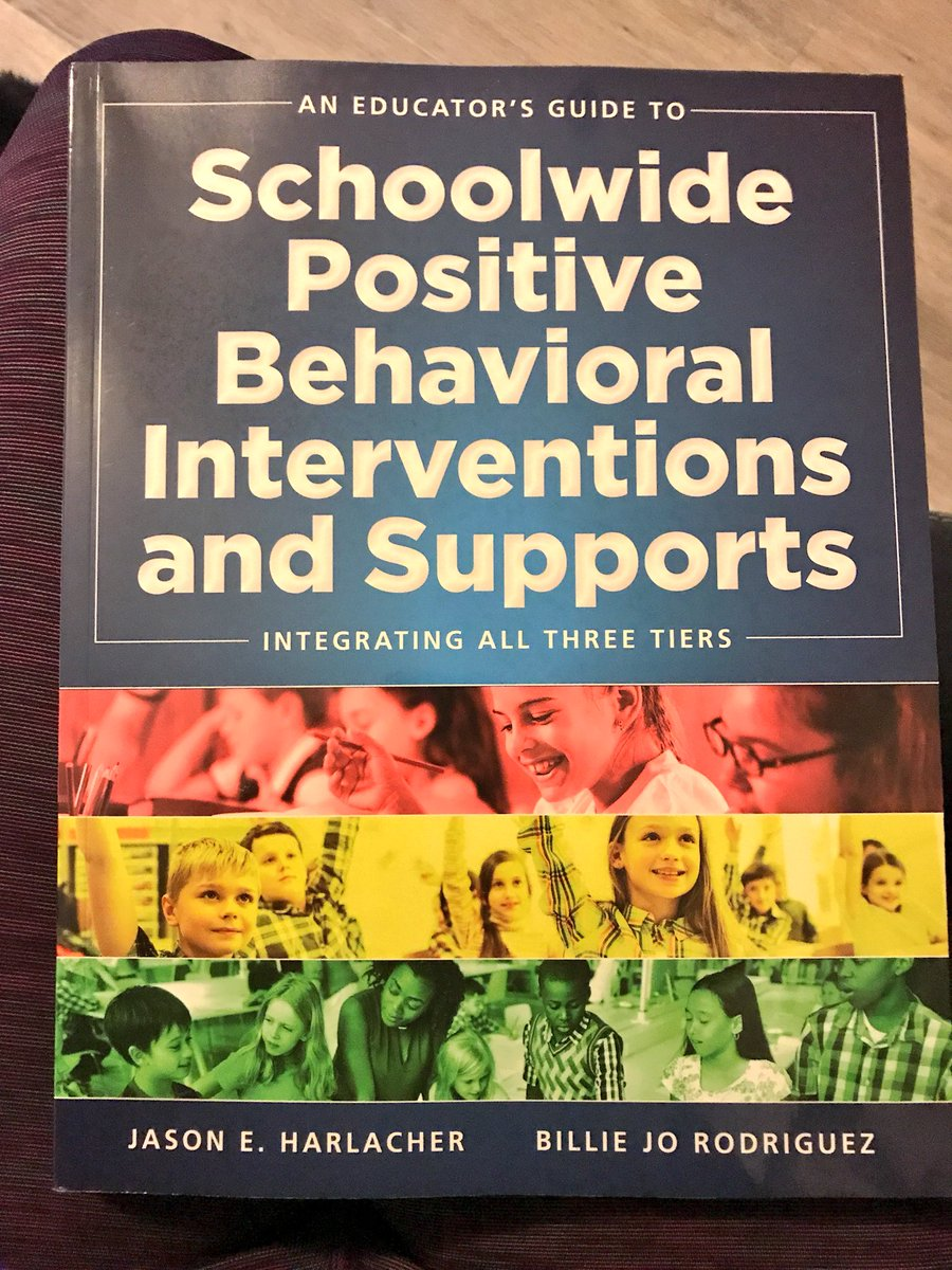 This book=💯 Wonderful resources and support to making the #PBIS journey successful! #fmsteach #fpslearn #pbischat @MOSWPBS @HOMRPDC https://t.co/HtnFv9BBSB