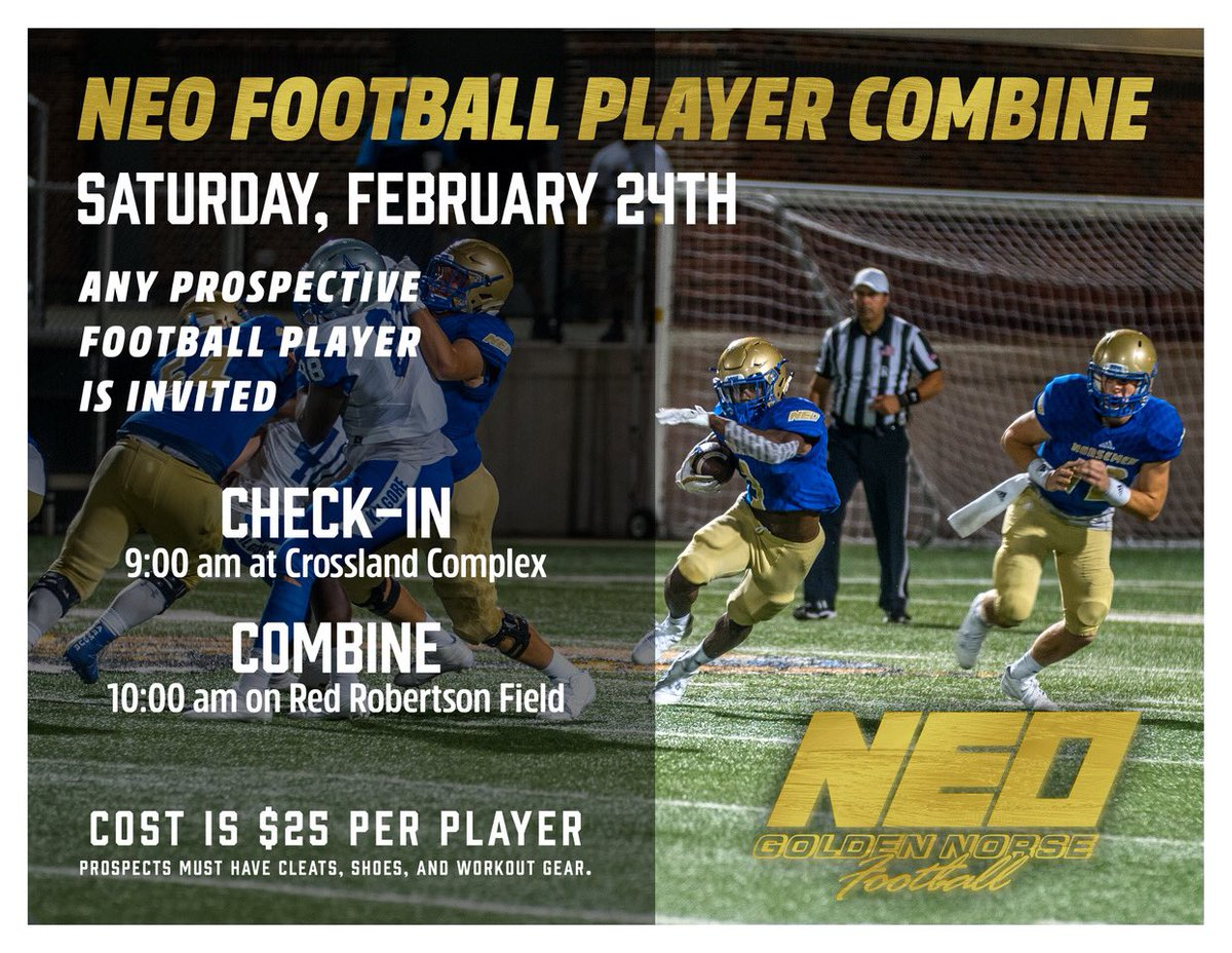 RT @Norsemen_FB: This Saturday!! #StayGolden https://t.co/efdLuCRYc1
