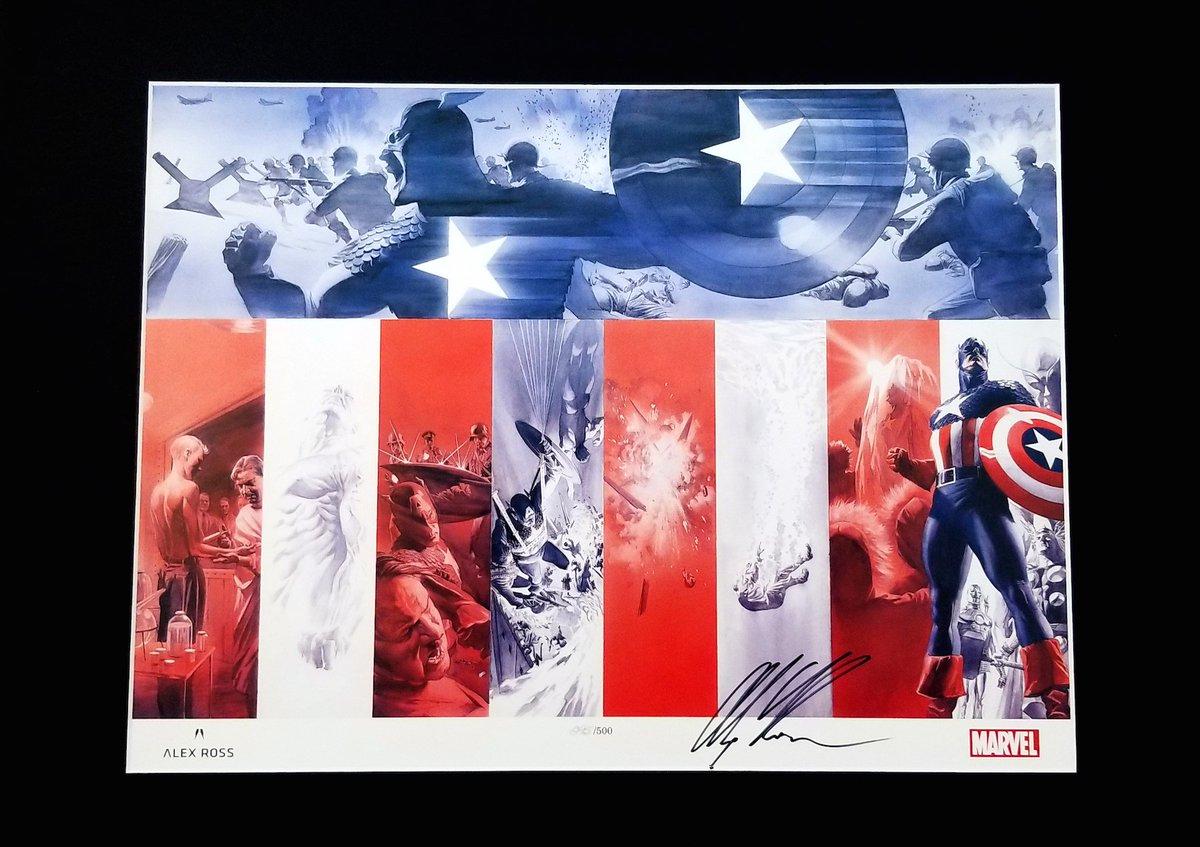 Giving away one SIGNED edition of Origins: Captain America. Ends 2/28! Enter here to win: https://t.co/N7Vxl02Cjl  #CaptainAmerica #MarvelComics #MakeMineMarvel #MondayMotivation https://t.co/16cs6JOofn