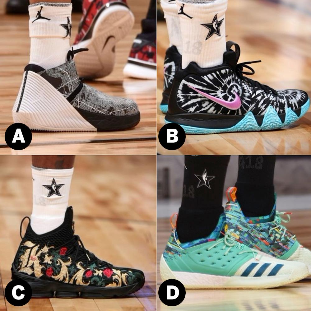 All-Star Game kicks brought the heat. Which was your favorite? https://t.co/Y7QDG2GUxW