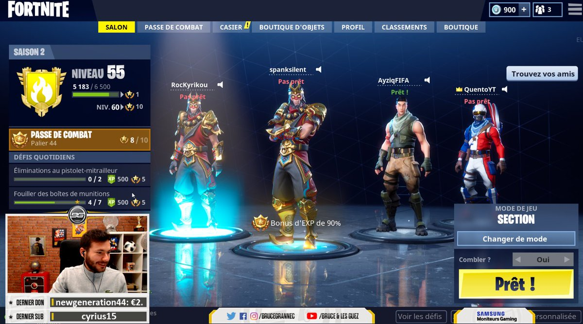 RT @BruceGrannec: On go sur Fortnite avec la Team FIFA ! 😉   ▶️ https://t.co/8z1oEEIkE5 https://t.co/tnt16yG1ae