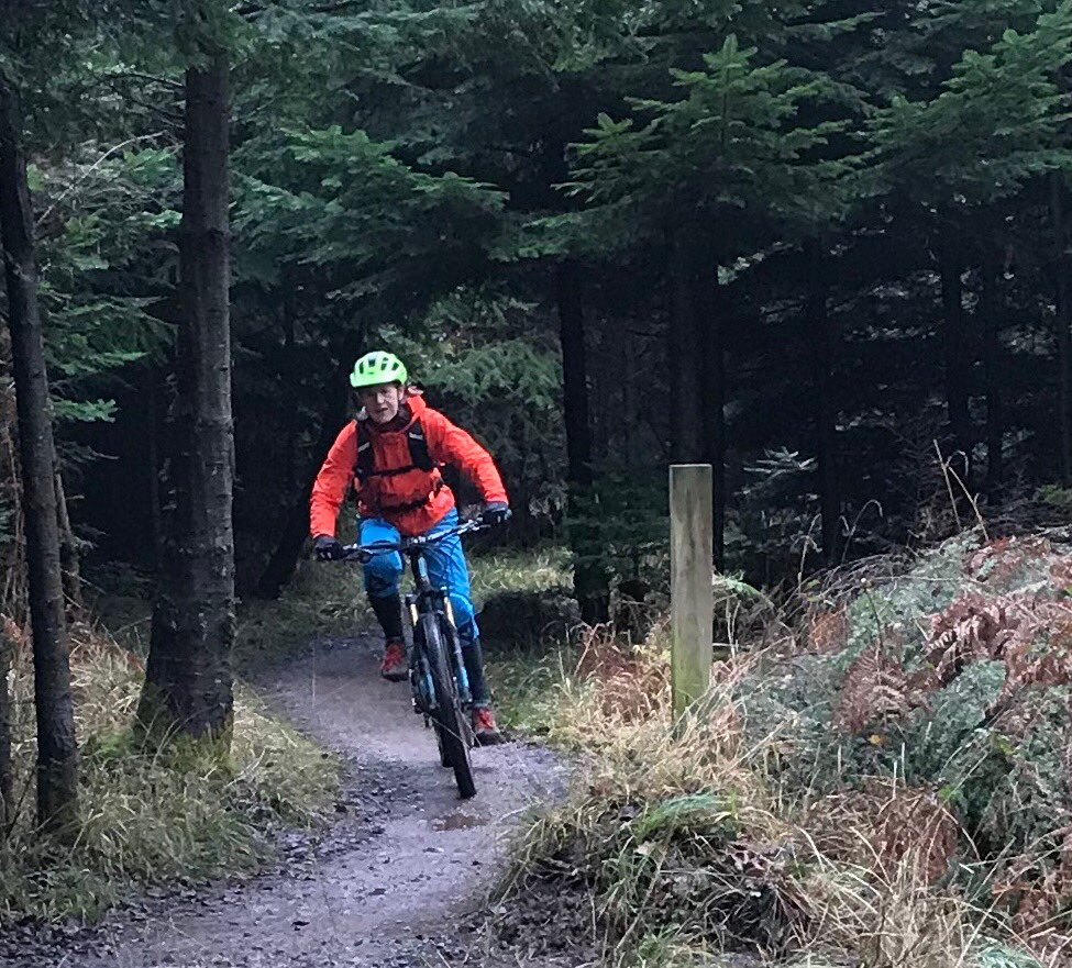Finally my nose is unblocked enough to get back on my bike. Great blast round @HaldonForest this morning. https://t.co/VEKqqN7D8i
