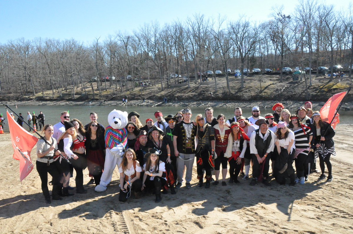 We just have two weekends left in Polar Plunge season! Who's taking the Plunge in Lake of the Ozarks, Maryland Heights or Lake Viking this Saturday?  https://t.co/I3iqE9X8Vr https://t.co/tM2XEw8jGP