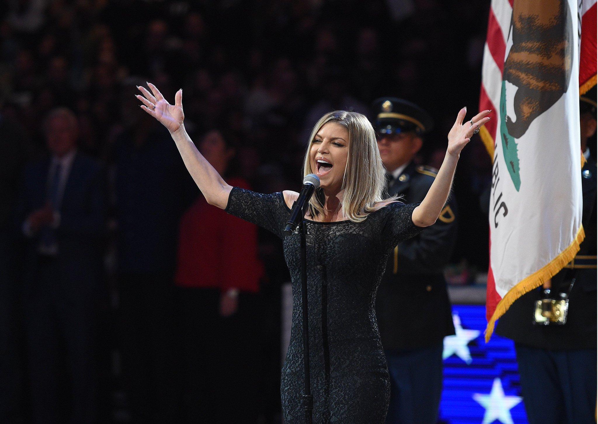 Fergie responds to criticism following National Anthem rendition. https://t.co/8e9Gtc0uru https://t.co/ExTOj6F7VD