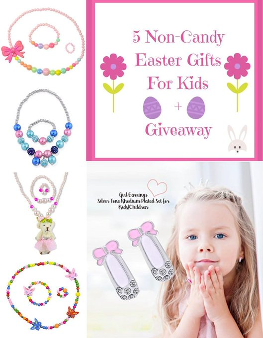 5 Easter Gifts for Children No Candy Giveaway
