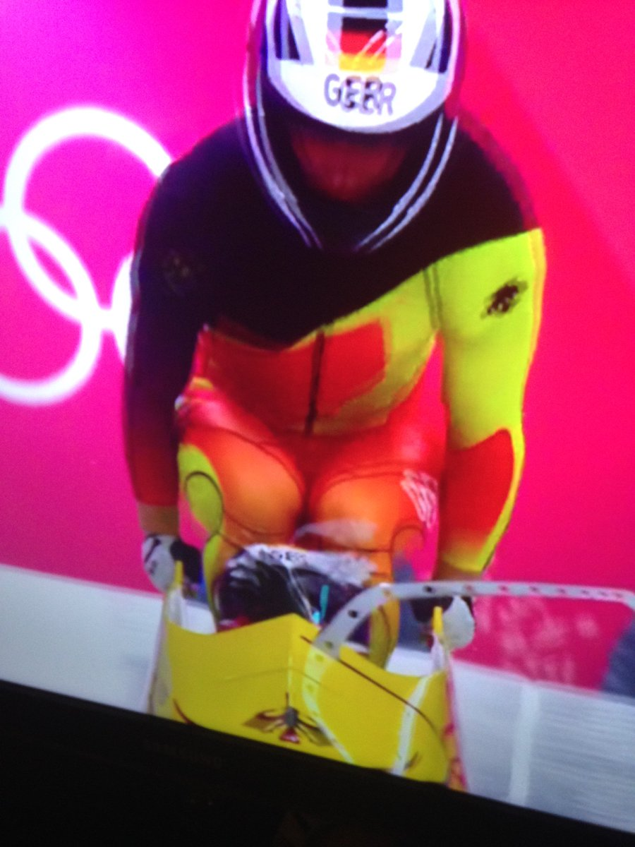 #Germany's #bobsled team makes me wanna #SnapintoaSlimJim !  #Olympics #PyeongChang2018 @SlimJim #ohyeah https://t.co/s4ejF2bdxL