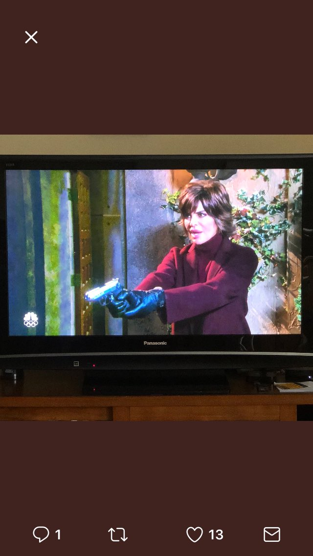 """My Assistant Ninie just sent me this- """"Not going to lie, seeing you with a gun is terrifying. ???? @nbcdays #Biilie https://t.co/1LCNpNfN90"""