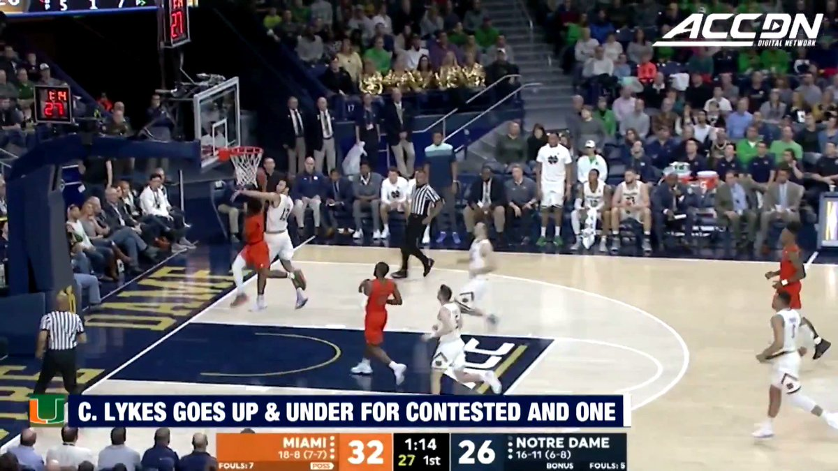Filthy finish by @IAm_Lykesdat!  #MustSeeACC https://t.co/F8S0IcU9Kv