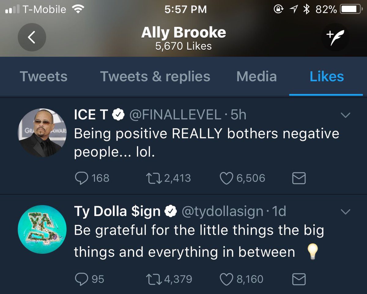 RT @AllyBrookeOn: UPDATE • Ally liked @tydollasign and @FINALLEVEL's tweets https://t.co/xuID4ABU9U