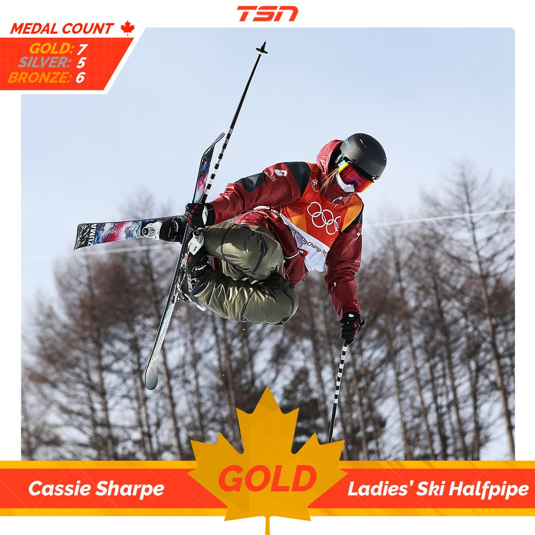 Canada's Cassie Sharpe wins ha cassie sharpe