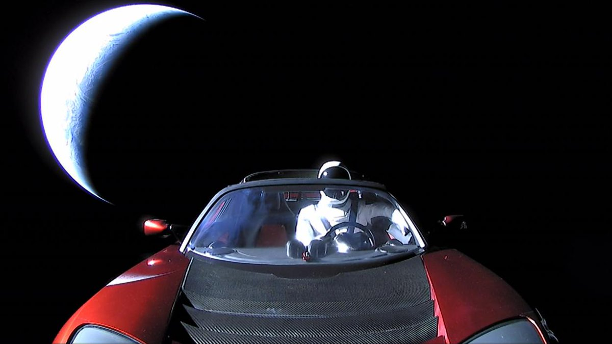 This website lets you track Elon Musk's car as it travels through space https://t.co/IYtv4UeBAs https://t.co/X4PtG9I6AG