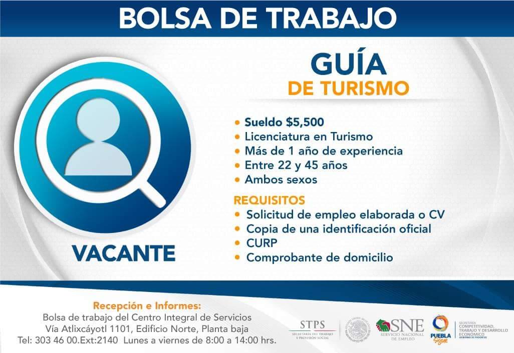 La #VacanteDelDía es para ti, trae tu currículum a la Bolsa de trabajo ubicada en el CIS Angelópolis https://t.co/63pd5cYo0S