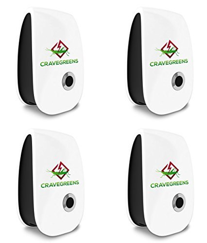 Cravegreens Pest Control Ultrasonic Repellent -Electronic Plug -In Repeller for Insect(4) https://t.co/rXU1JXZ7mm https://t.co/Hry5oKBx6G