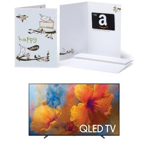 Samsung Electronics QN75Q9 75-Inch 4K Ultra HD Smart LED TV (2017 Model) with https://t.co/905XnMqzTj Gift Card in a GreetingCard https://t.co/m9uYXAqkHO https://t.co/TAmtaujtWD