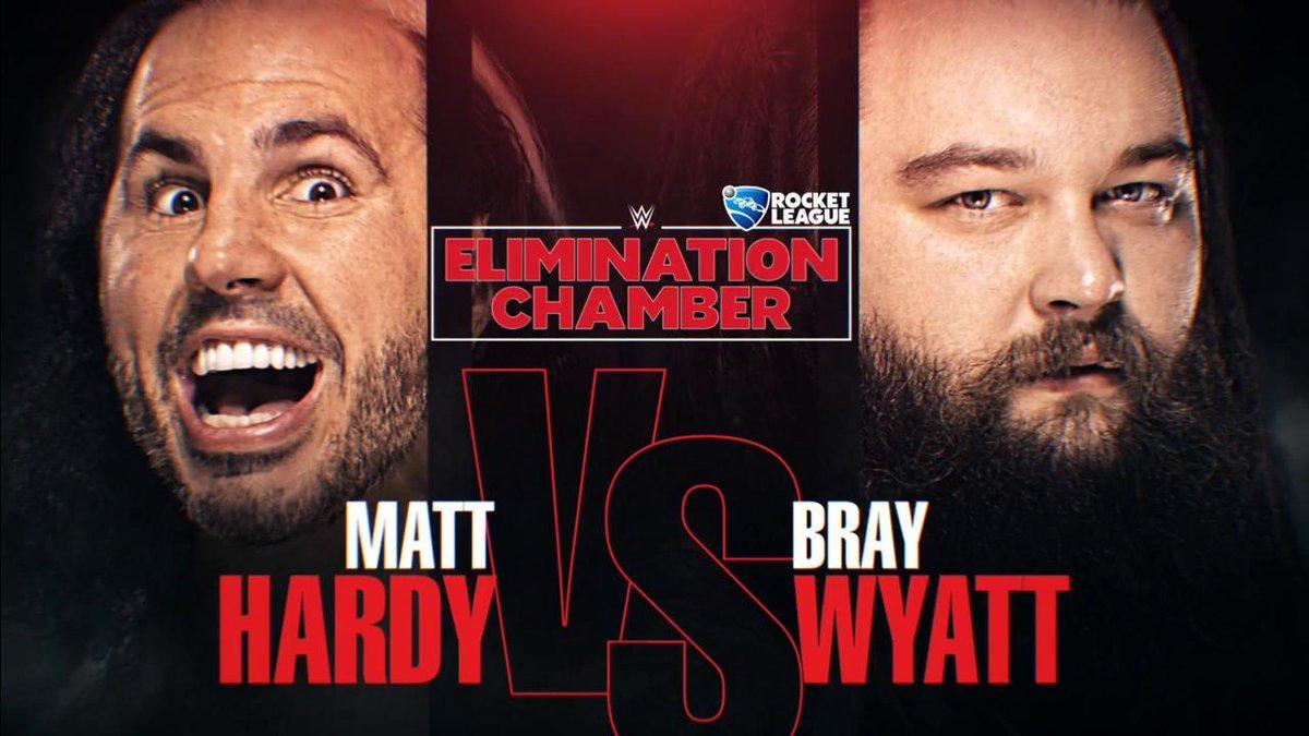 THIS SUNDAY: #WOKEN @MATTHARDYBRAND looks to finally DELETE @WWEBrayWyatt at #WWEChamber! #RAW https://t.co/WzL36h8oG3