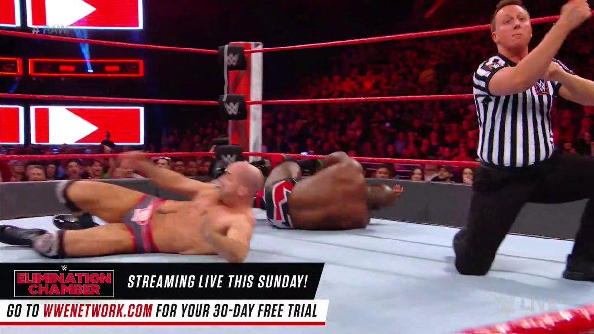 THE STATS DON'T LIE as #TitusWorldwide DEFEATS #TheBar on #RAW!!!! @WWECesaro @WWESheamus @TitusONeilWWE @DanaBrookeWWE https://t.co/XSsm3XeduK