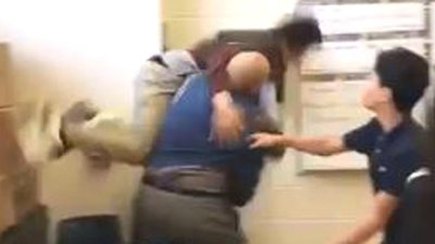 Substitute teacher fired after video shows him body slamming student