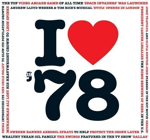1978 BIRTHDAY or ANNIVERSARY GIFT – I Love 1978 Greeting Card & 1978 Chart Hits Compilation Music CD Gift with 20 Original Songs AllDownloadable https://t.co/Szkf6aBWyy https://t.co/Ibu0Nn32J7