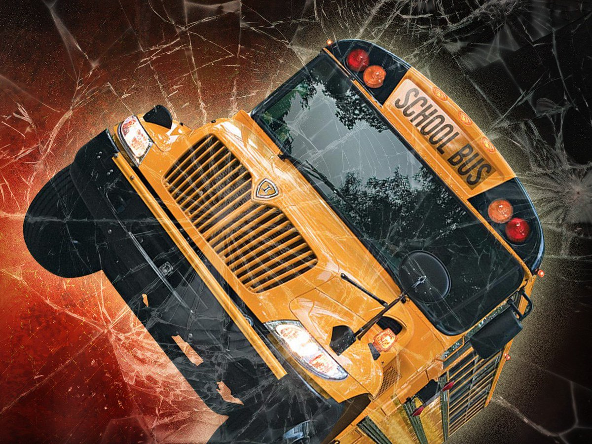 Kingston Elementary school bus winds up in ditch https://t.co/ROnJUm1emw (MGN graphic) https://t.co/8Pa3AB9LZw