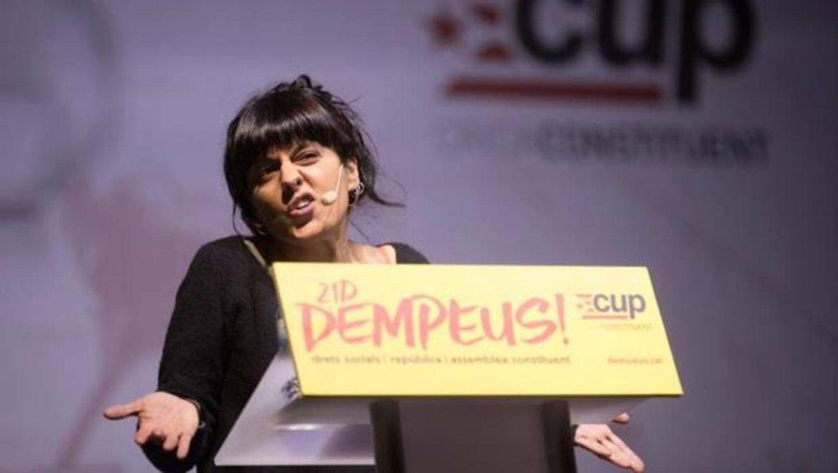 La exdiputada catalana Anna Ga anna gabriel