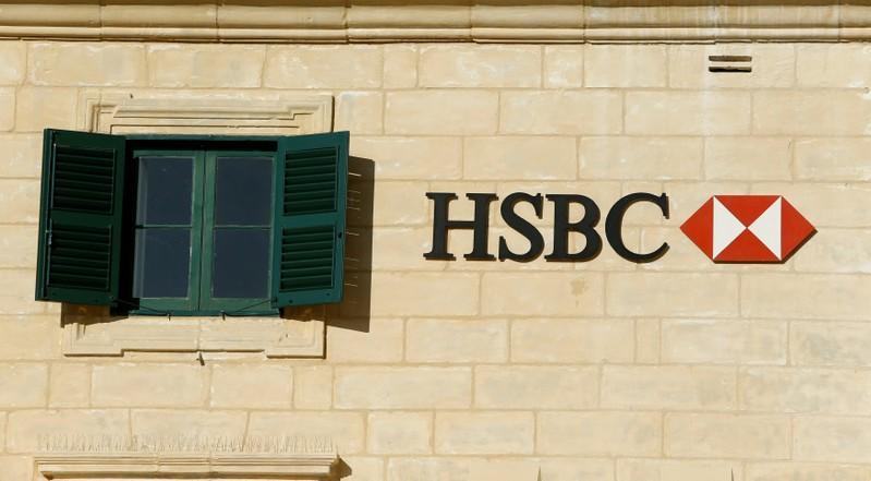 HSBC's 2017 profit jumps but below view, plans $5 billion-$7 billion capital raising