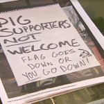 Business owner harassed, threatened after showing support for police