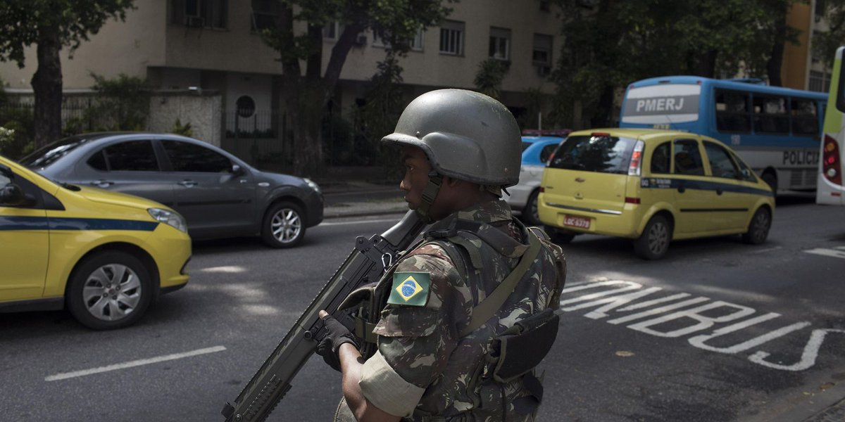 Rio could be 'laboratory' for solving Brazil's crimes
