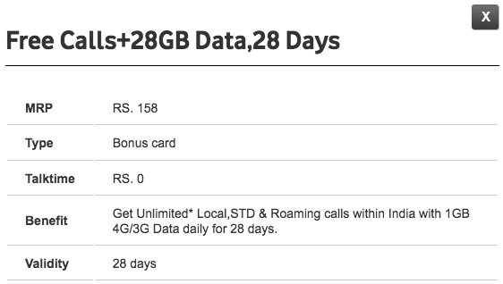 test Twitter Media - Vodafone Launches Rs 158 Prepaid Plan Offering 1GB Data Per Day, Unlimited Calls for 28 Days https://t.co/50xFxDlBS5 https://t.co/3Ul75ia6cT