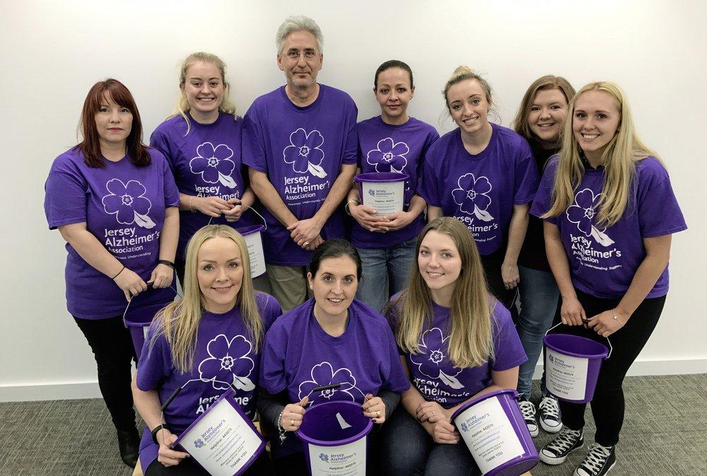 RBC raise £60,000 for Alzheimer's charity