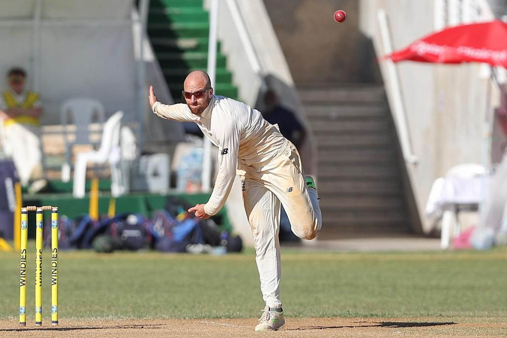 Six wickets for Jack Leach as Lions made to toil in Jamaica:  ??https://t.co/GfUc5tjZN1 https://t.co/SEwGN7YVUC
