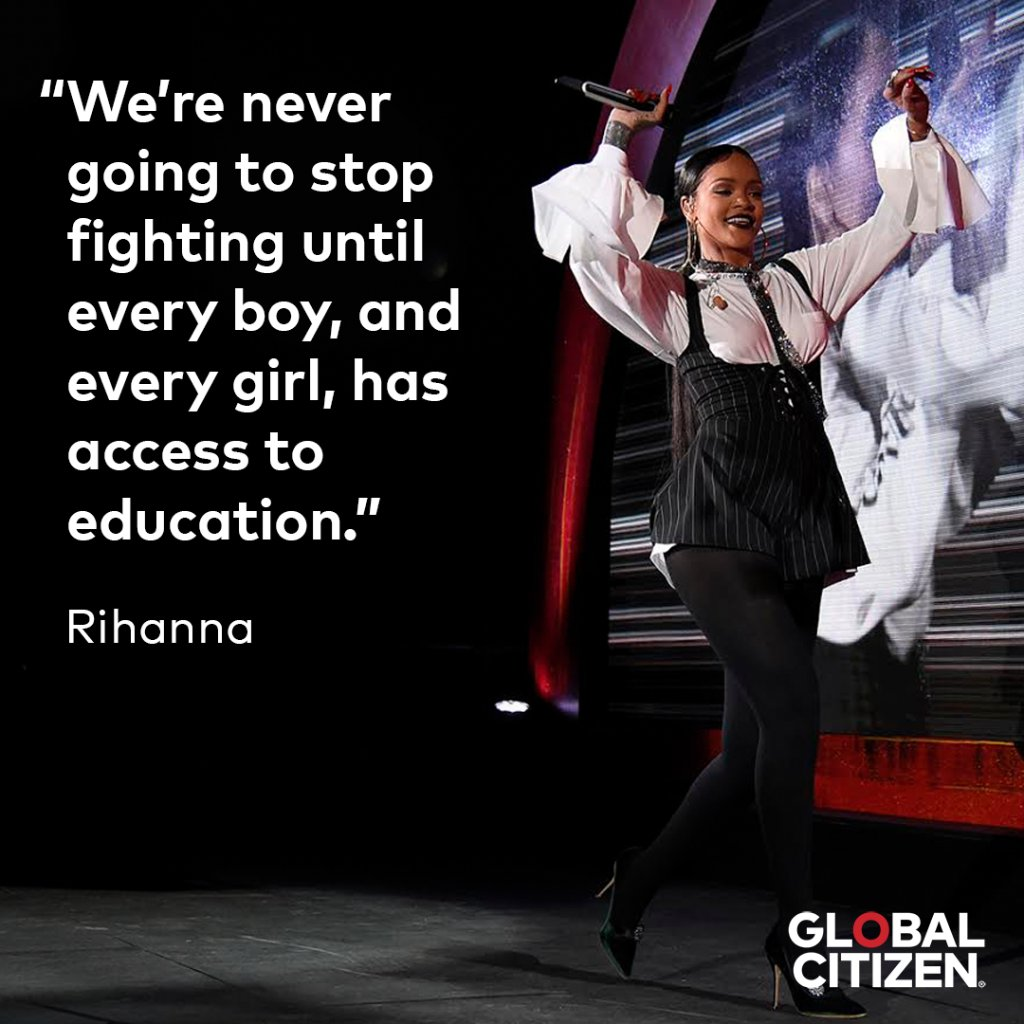 Happy 30th birthday to one of our favorite education activists and super Global Citizens – @Rihanna! https://t.co/7npBHrQt6x