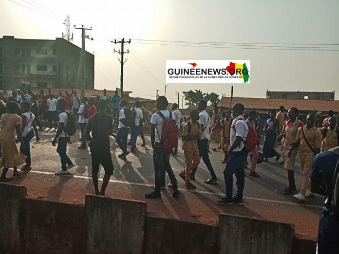 Petit Simbaya : Des heurts signalés entre élèves et forces de l'ordre